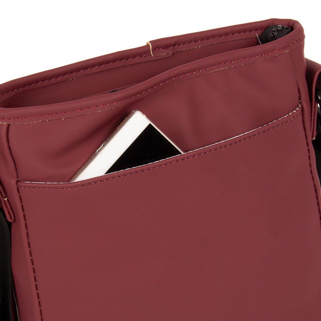 New-Rebels® Mart Shoulderbag A5 Flapover Burgundy  VII | Schoudertas