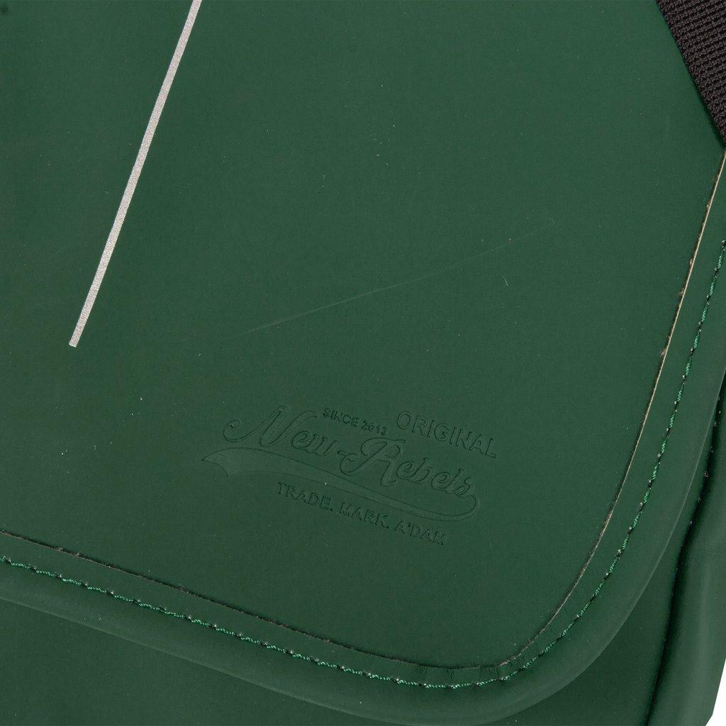 Mart Shoulderbag A5 Flapover Dark Green VII | Schoudertas