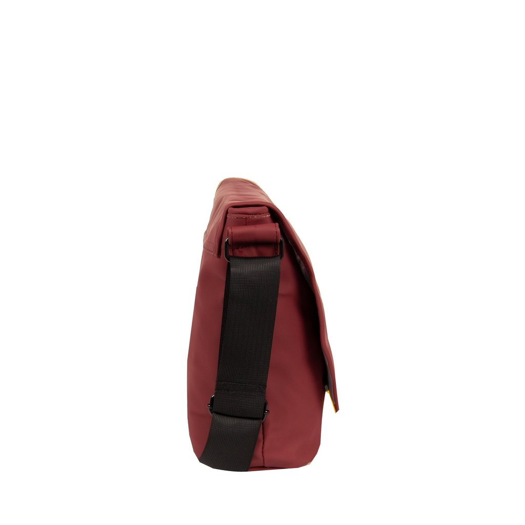 Mart Shoulderbag A4 Flapover Burgundy VIII | Schoudertas