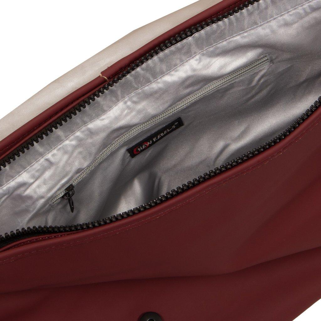 Mart Shoulderbag A4 Flapover Burgundy VIII | Umhängetasche