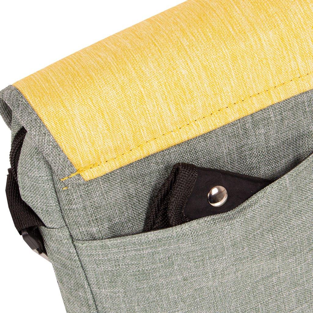 Creek Small Flap Mint/Soft Yellow I | Schoudertas