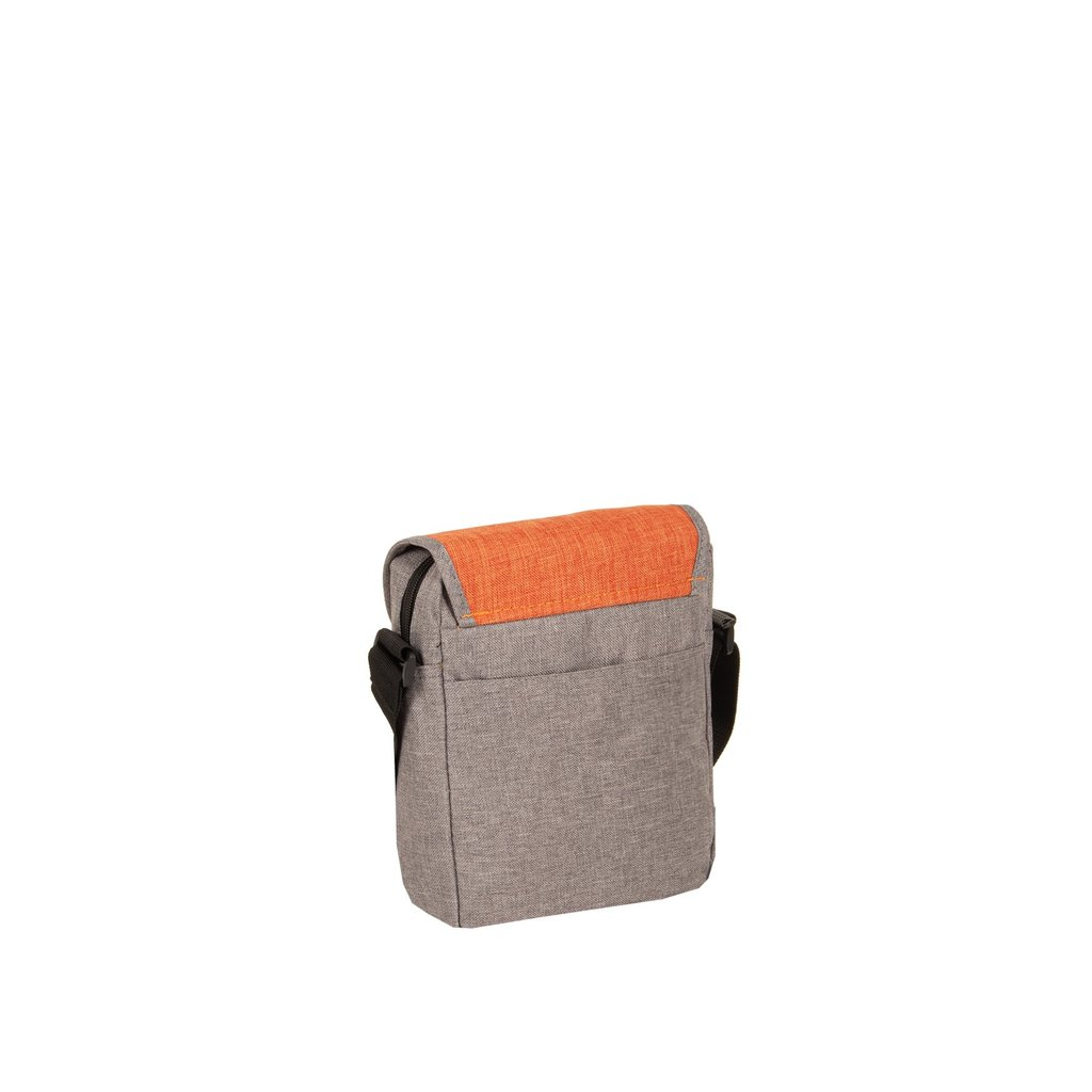 Creek Small Flap Anthracite/Orange I | Schoudertas