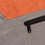 Creek Medium Flap Anthracite/Orange II | Schoudertas