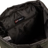 Creek Small Flap Backpack Dark Green/Anthracite IV