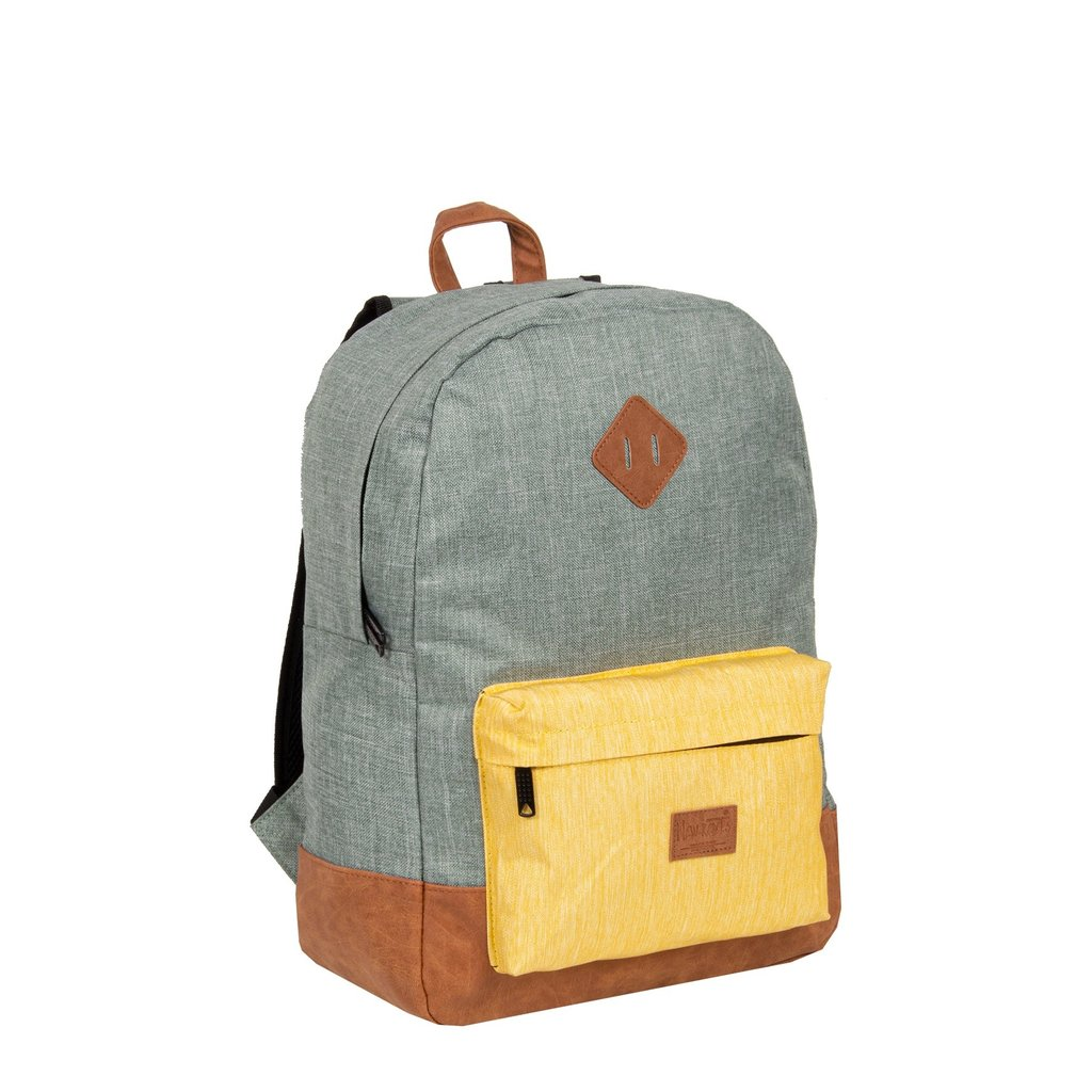 Creek Round Shape Backpack Mint/Yellow VI