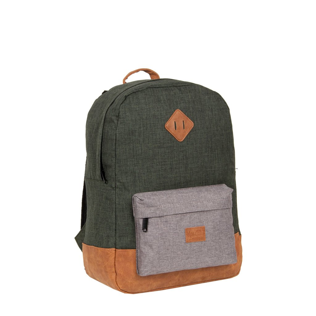 Creek Round Shape Backpack Dark Green/Anthracite VI