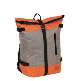 Creek Roll Top Backpack Anthracite/Orange VII | Rucksack