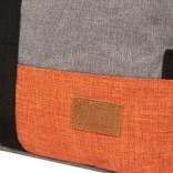 Creek Roll Top Backpack Anthracite/Orange VII