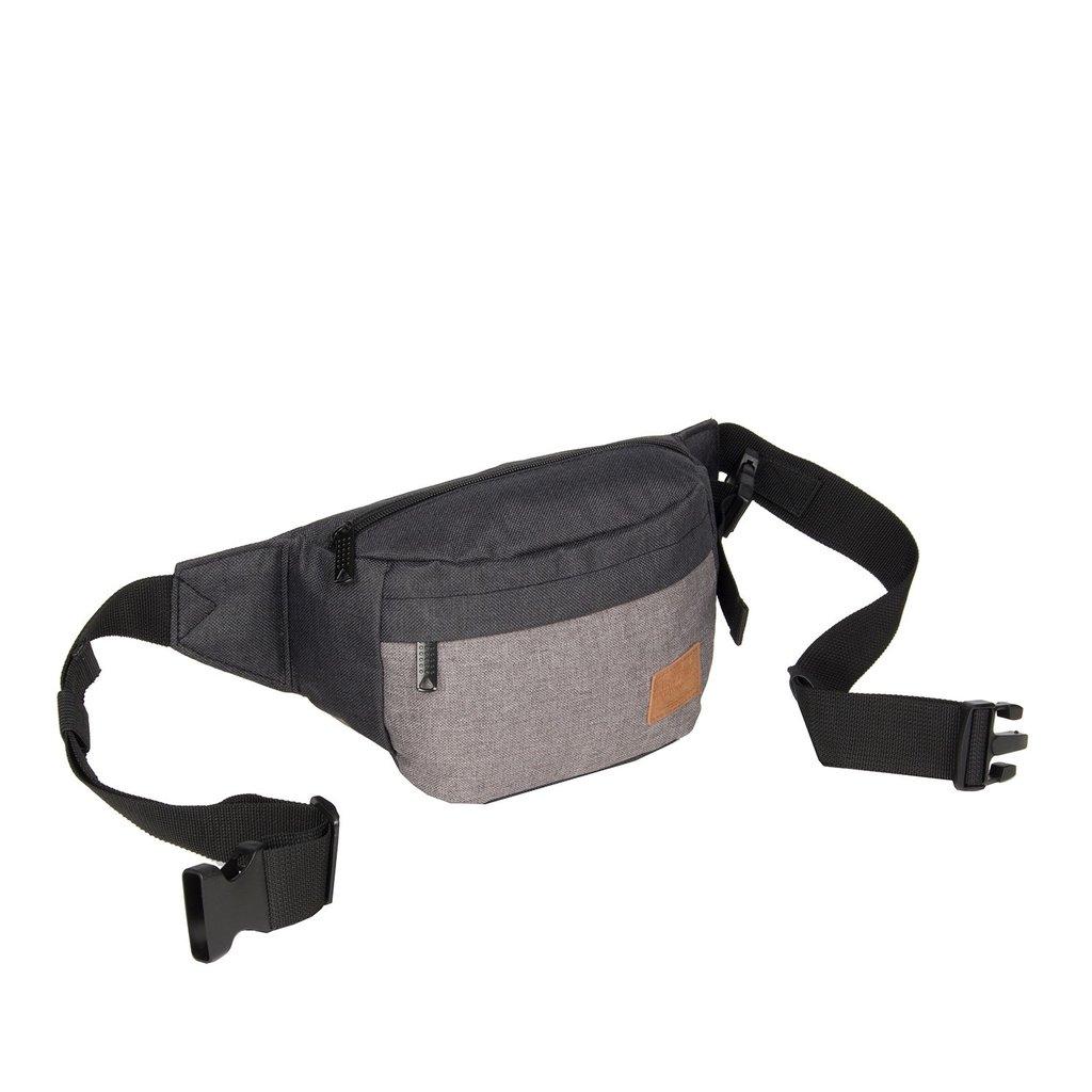 Creek Waist Bag Black VIII   Bauchtasche