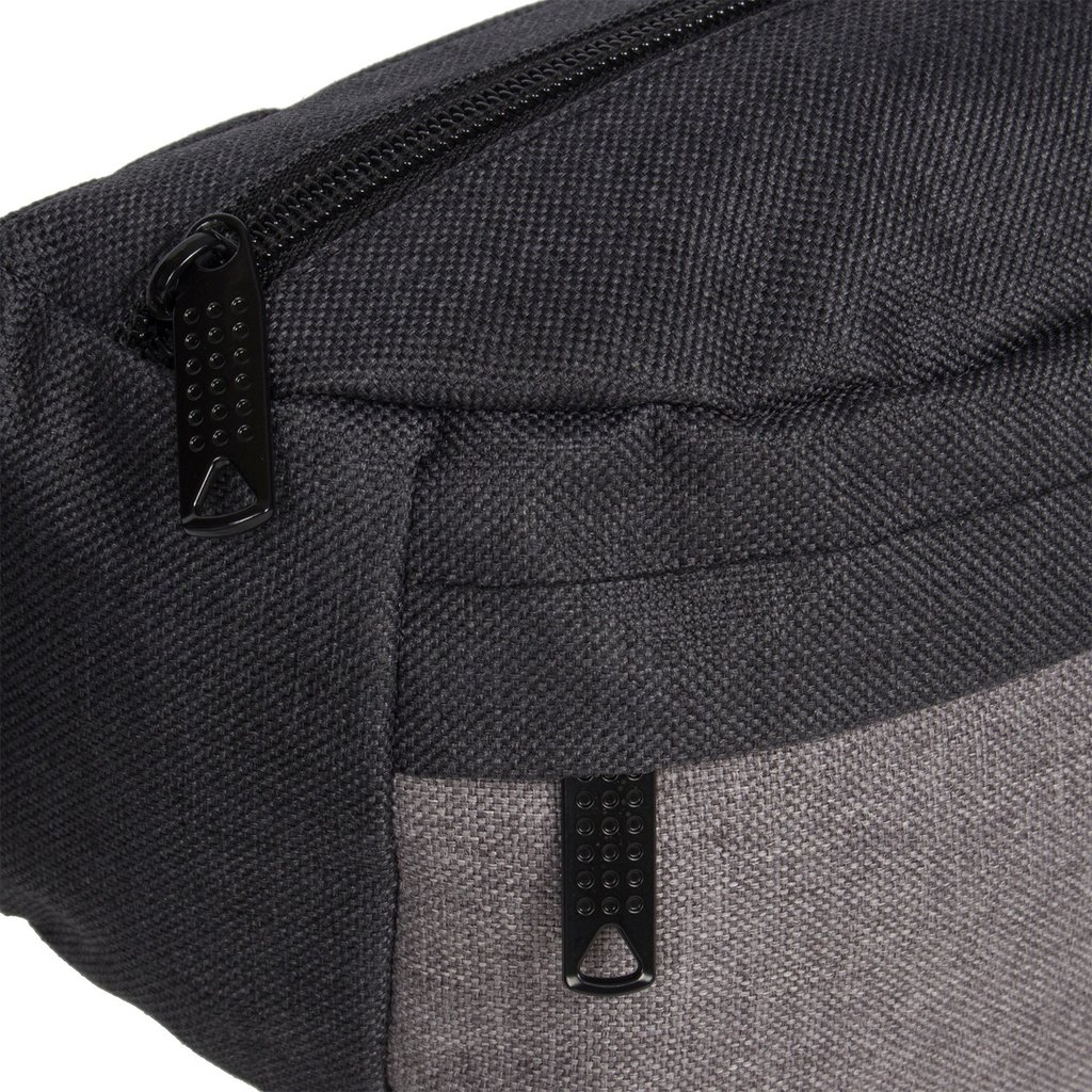 Creek Waist Bag Anthracite/Grey VIII | Heuptasje