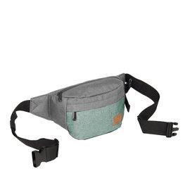 Creek Waist Bag Anthracite/Mint VIII | Heuptasje
