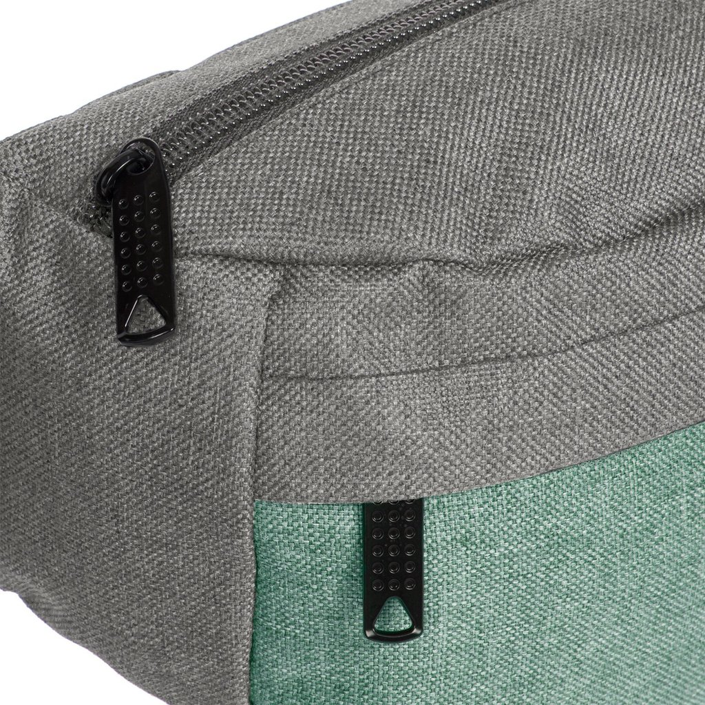 Creek Waist Bag Anthracite/Mint VIII | Bauchtasche