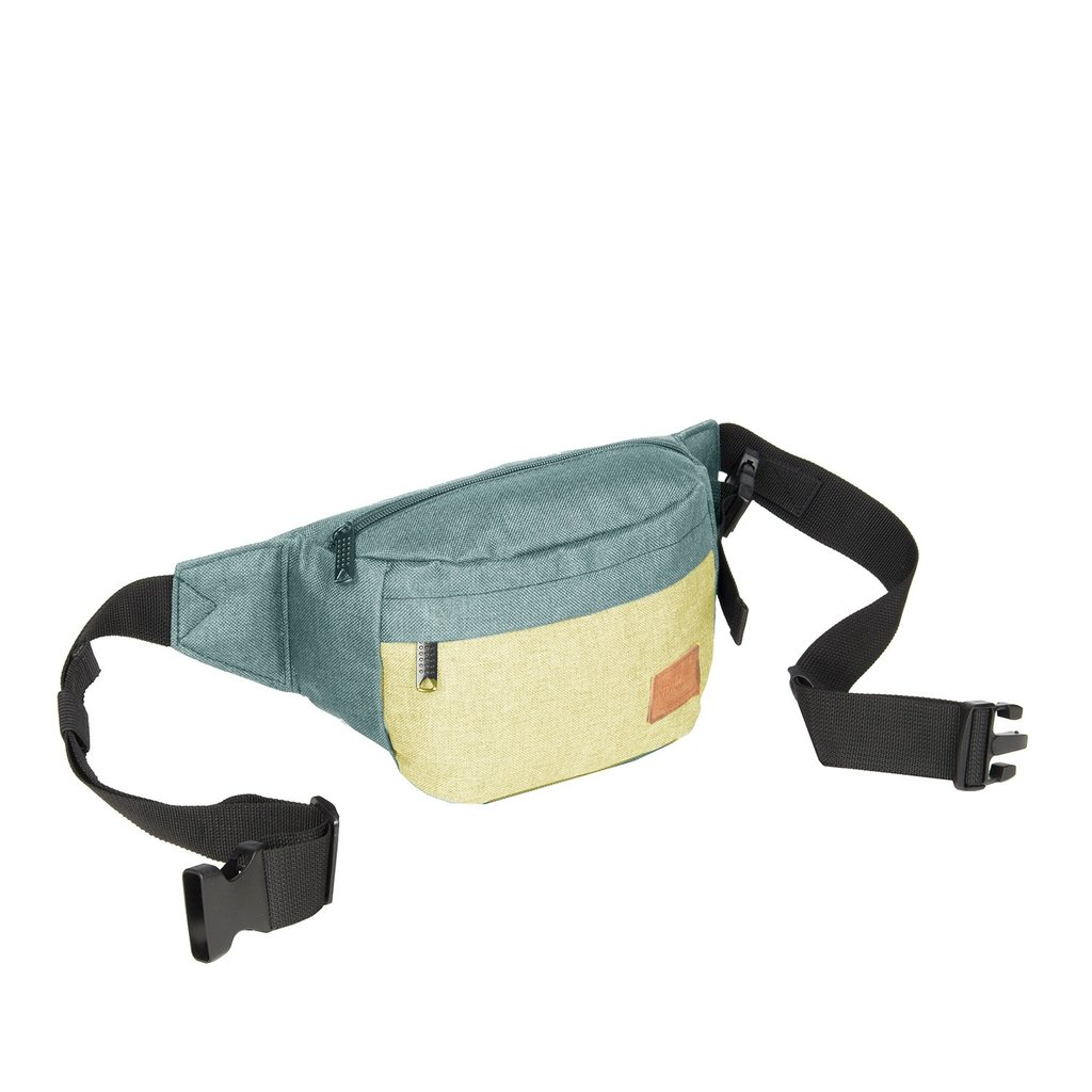 Creek Waist Bag Mint/Soft Yellow VIII | Bauchtasche