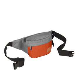 Creek Waist Bag Anthracite/Orange VIII | Bauchtasche
