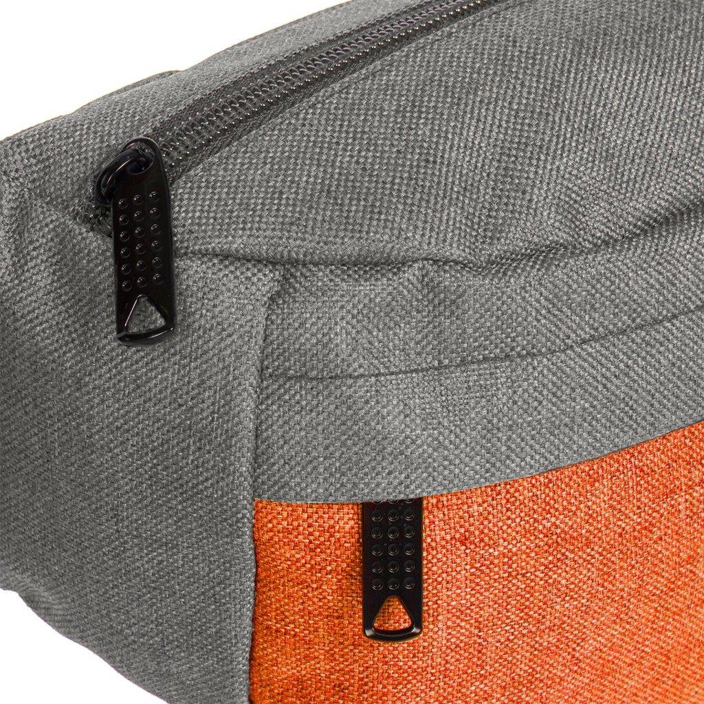 Creek Waist Bag Anthracite/Orange VIII | Bauchtasche