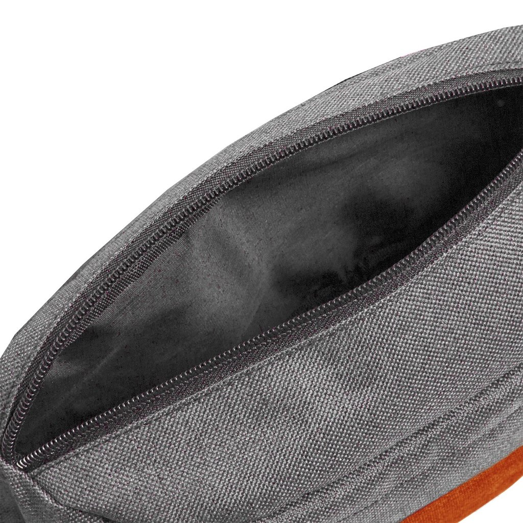Creek Waist Bag Anthracite/Orange VIII | Heuptasje