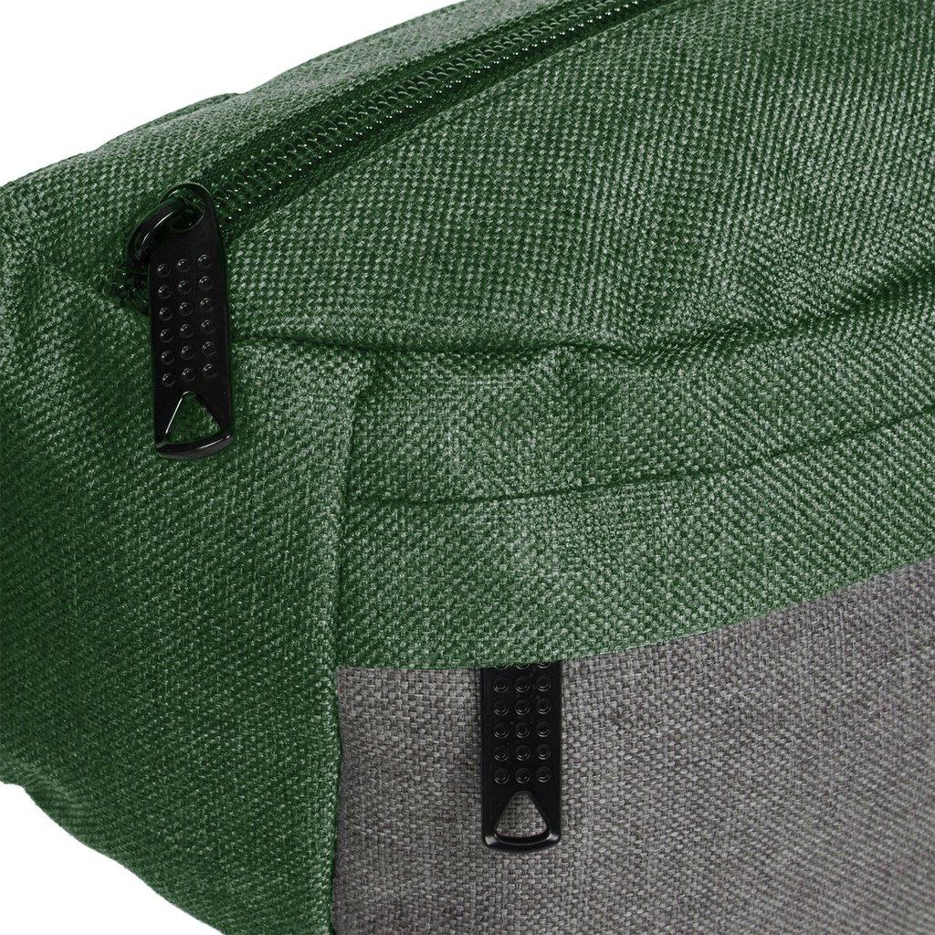 Creek Waist Bag Dark Green/Grey VIII | Heuptasje