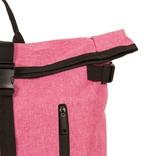 New Rebels® - Heaven Urban Transport - Rugzak -Rugtas - Laptop vak - Polyester - Roze