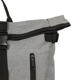 New Rebels® - Heaven Urban Transport - Rugzak -Rugtas - Laptop vak - Polyester - Antraciet