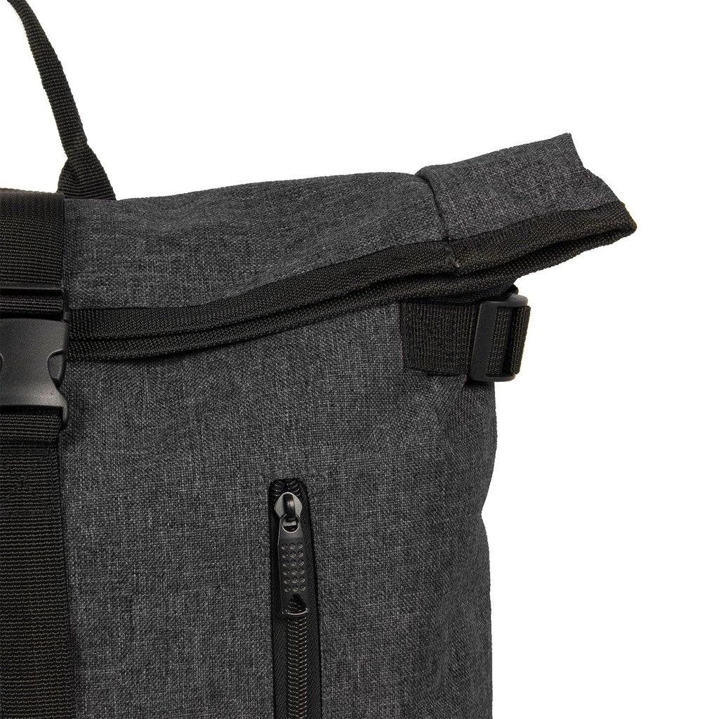 New Rebels® - Heaven Urban Transport - Rugzak -Rugtas - Laptop vak - Polyester - Zwart