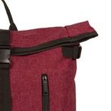 New Rebels® - Heaven Urban Transport - Rugzak -Rugtas - Laptop vak - Polyester - Burgundy