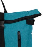 New Rebels® - Heaven Urban Transport - Rugzak -Rugtas - Laptop vak - Polyester - Aquablauw