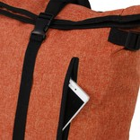 New Rebels® - Heaven Urban Transport - Rugzak -Rugtas - Laptop vak - Polyester - Oranje