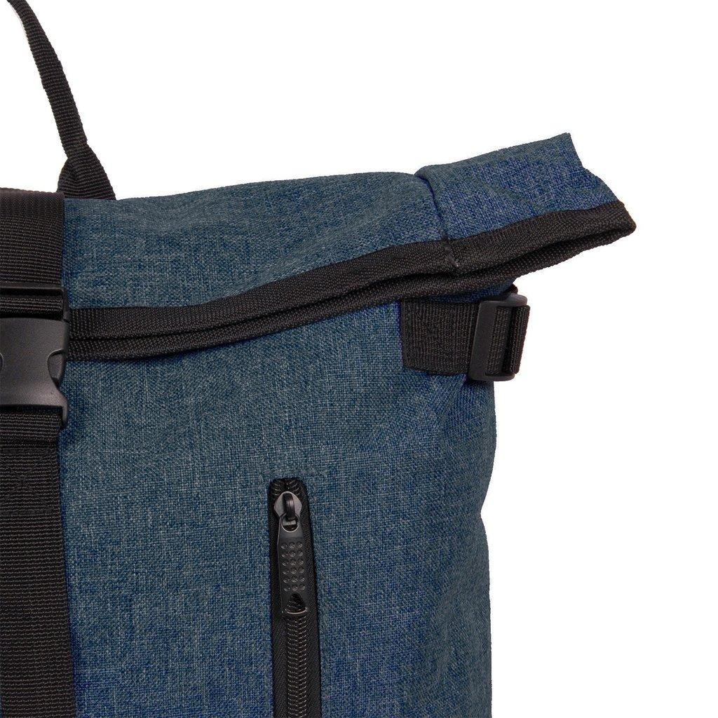 New Rebels® - Heaven Urban Transport - Rugzak -Rugtas - Laptop vak - Polyester - Donkerblauw
