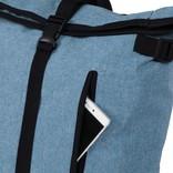 New Rebels® - Heaven Urban Transport - Rugzak -Rugtas - Laptop vak - Polyester - Lichtblauw