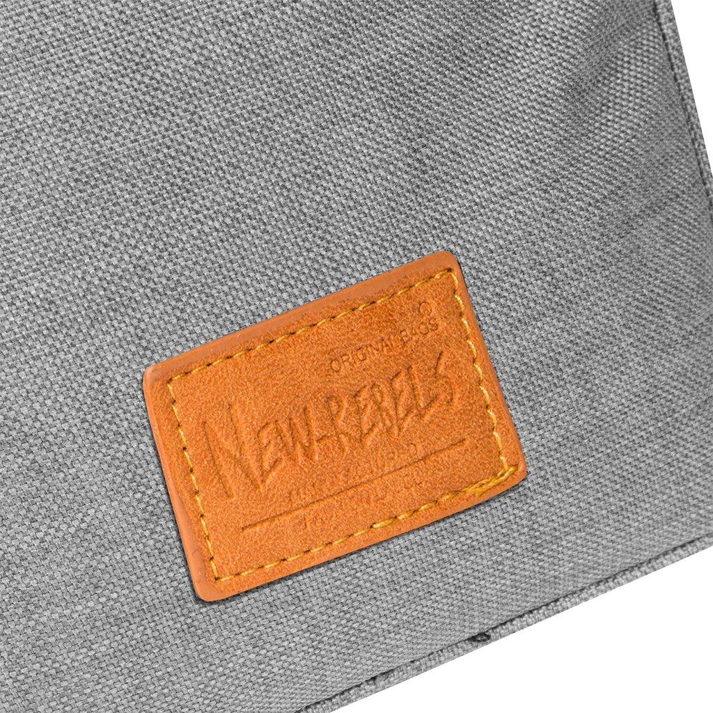 New Rebels® - Heaven V - Schoudertas - Crossbody - Polyester -  Antraciet