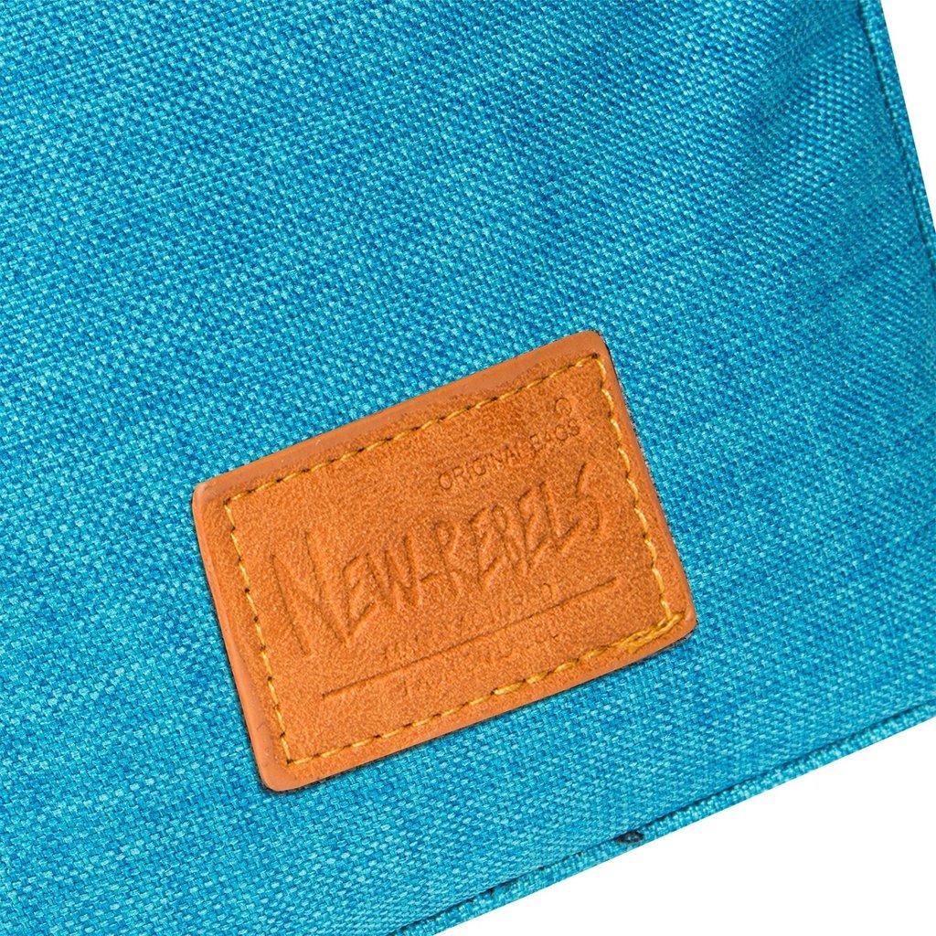 Heaven Top Zip New Blue V   Schoudertas