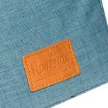 Heaven Top Zip Soft Blue V | Schoudertas