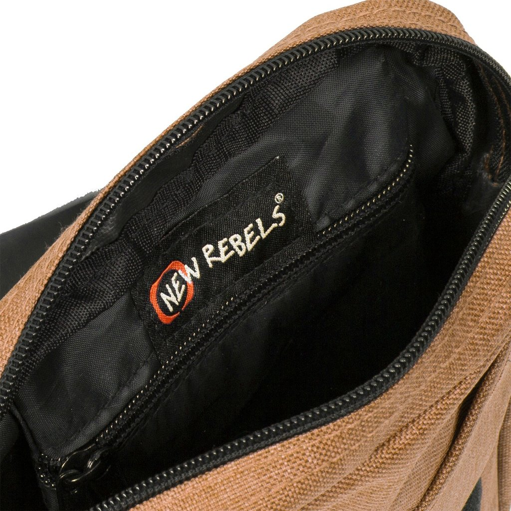New Rebels® - Heaven - Schoudertas - Crossbody - Polyester - Zand