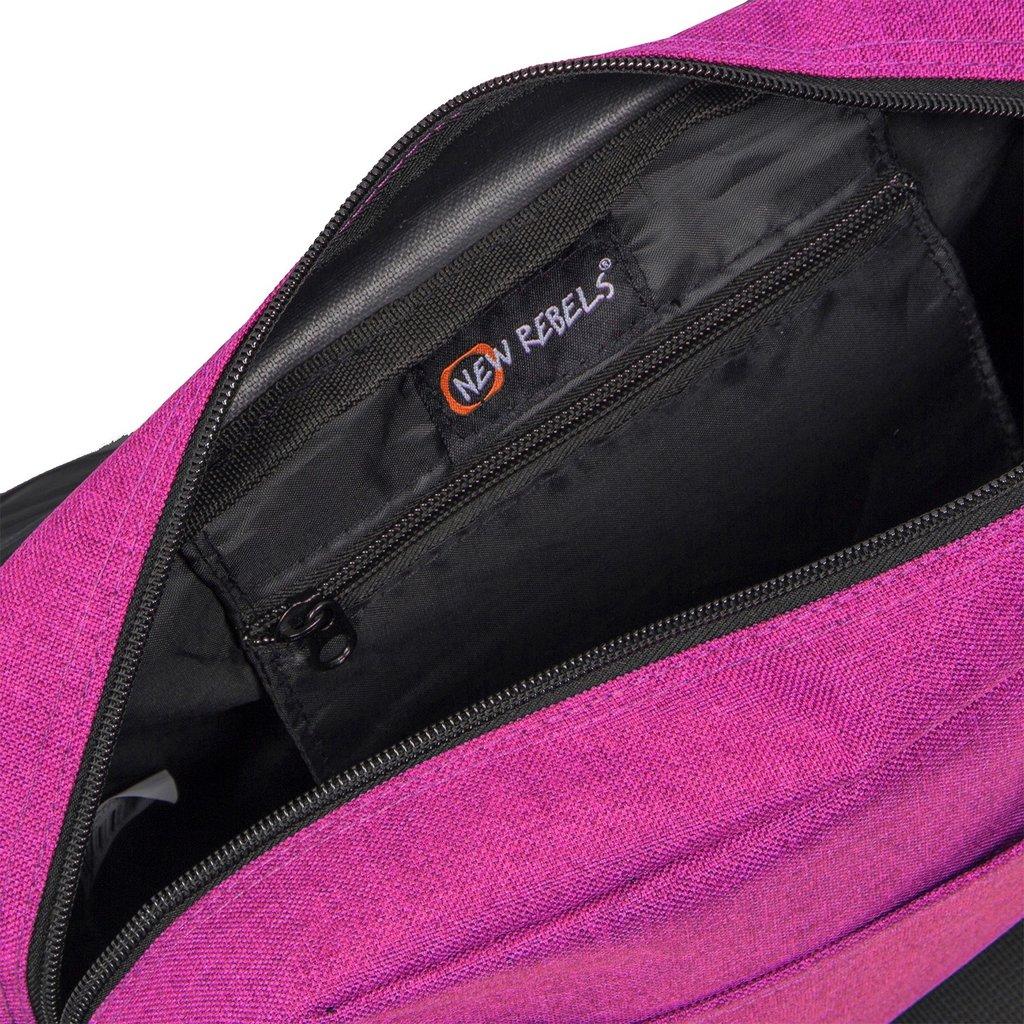 New Rebels®  Heaven25 - Medium Schaulderbag  A5 - Crossbodybag  Fuchsia