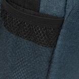 New Rebels®  Heaven25 - Medium Schoudertas  A5 - Crossbodytas met flap - Schaduw Blauw