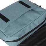 New Rebels®  Heaven25 - Medium Schoudertas  A5 - Crossbodytas met flap - Soft Blauw