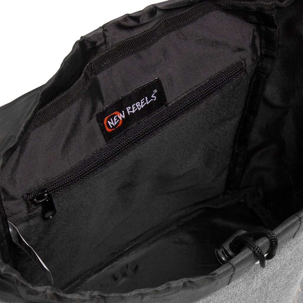 Creek Small Flap Backpack Anthracite IV | Rucksack