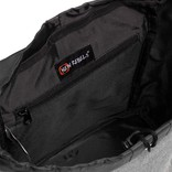 Creek Small Flap Backpack Anthracite IV