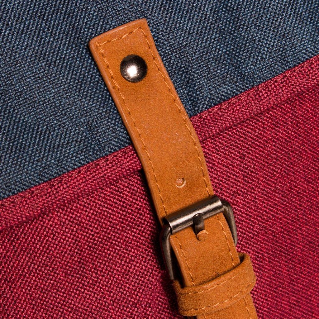 Creek Small Flap Backpack Burgundy IV