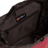Creek Small Flap Backpack Burgundy IV | Rugtas | Rugzak
