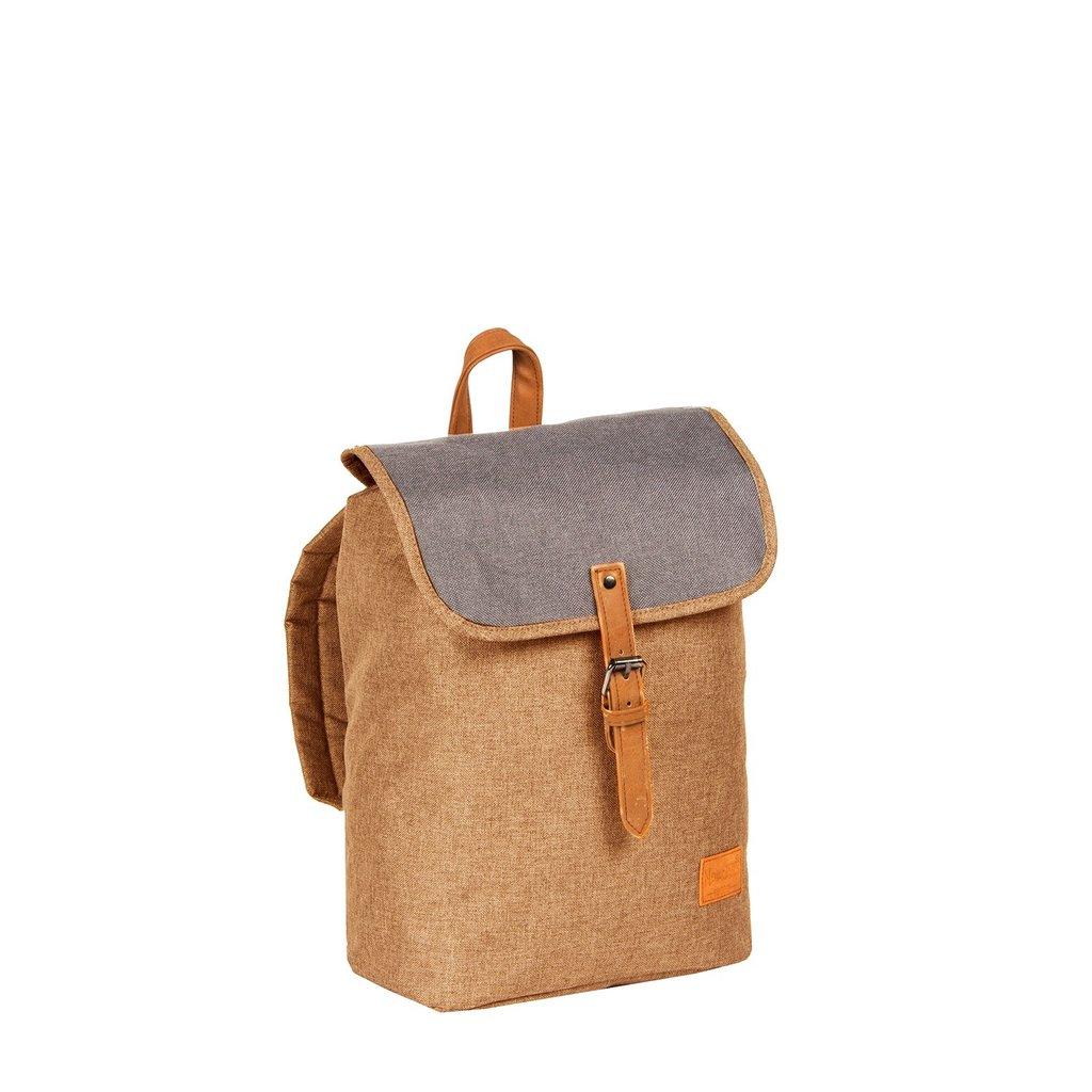 Creek Small Flap Backpack Sand IV