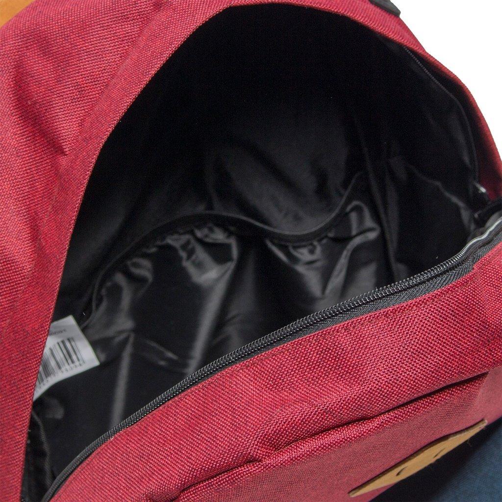 Creek Round Shape Backpack Burgundy VI