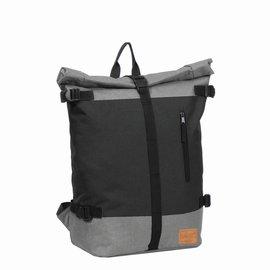 Creek Roll Top Backpack Black VII   Rucksack