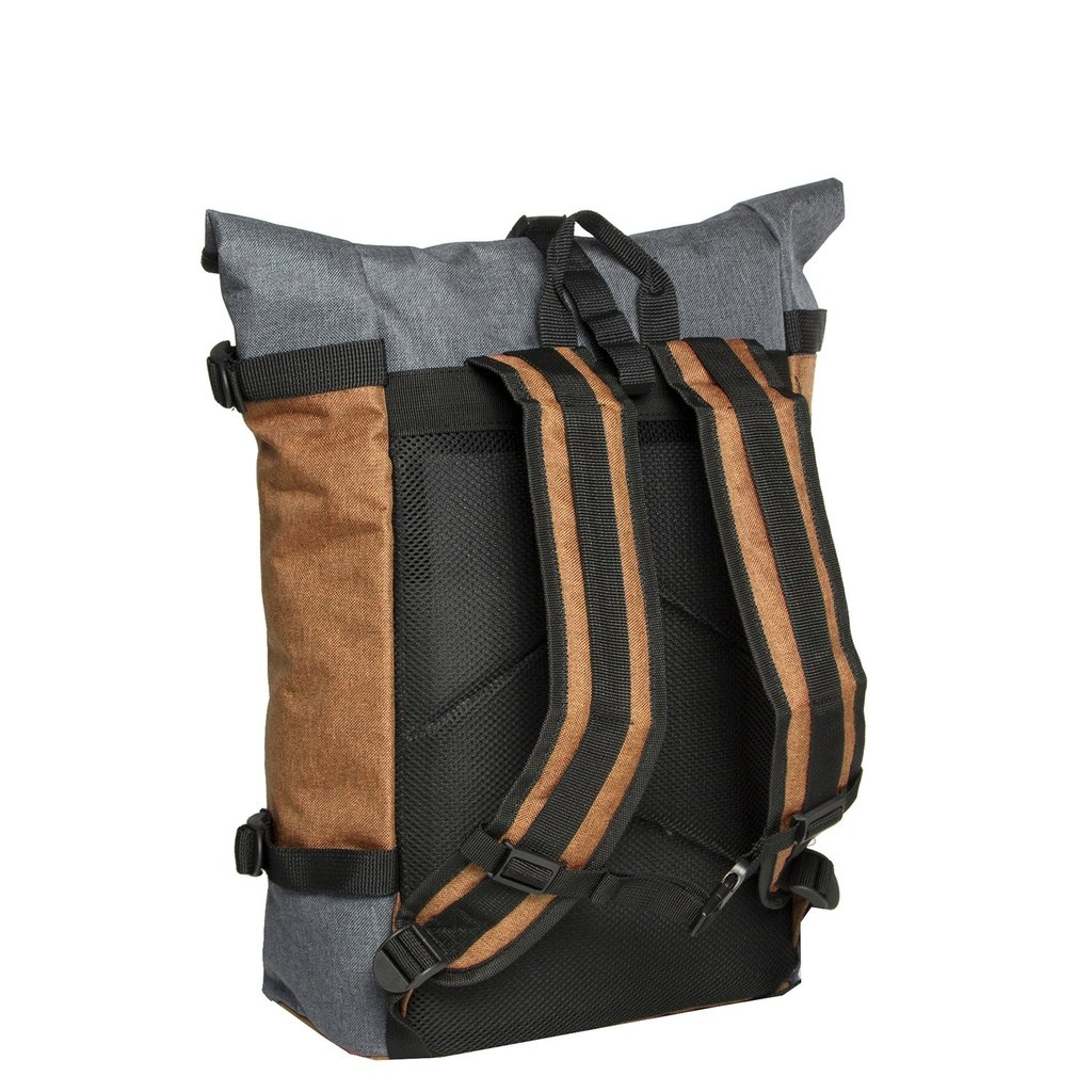 Creek Roll Top Backpack Sand VII