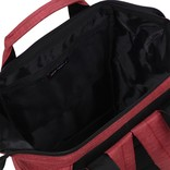 New Rebels® - Heaven Shopper -  Rugzak - 15L - Polyester - Burgundy