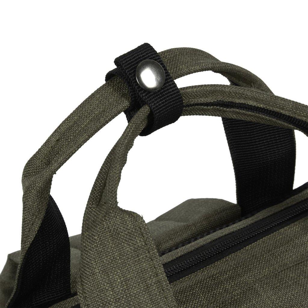 Heaven Shopper Backpack Dark Green XVI   Rugtas   Rugzak