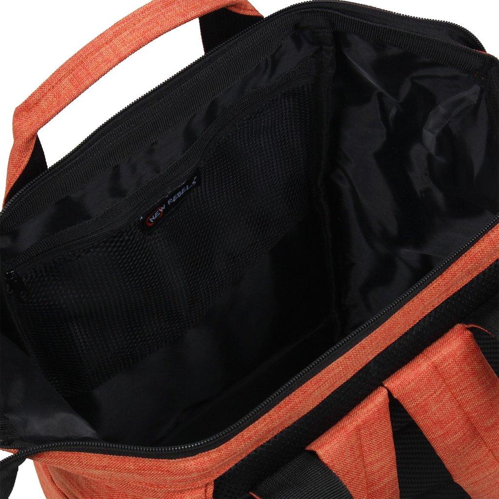 Heaven Shopper Backpack Rusty Orange XVI | Rugtas | Rugzak