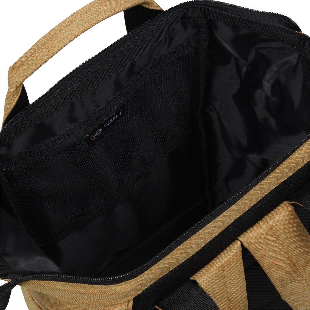 New Rebels® - Heaven Shopper -  Rugzak - 15L - Polyester - Zand