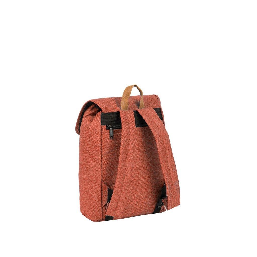 Heaven Small Flap Backpack Rusty Orange XIX | Rucksack