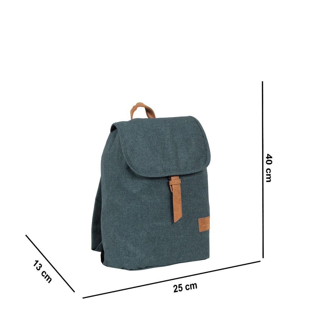 Heaven Small Flap Backpack Shadow Blue XIX